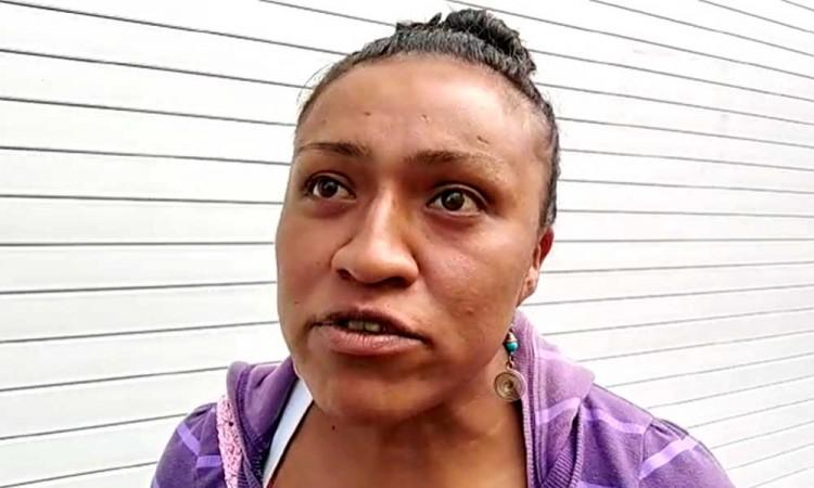 Rosalía perdió todo por la pandemia, ahora vende tamales para sobrevivir