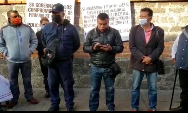 Van 7 policías muertos por Covid-19 en Puebla