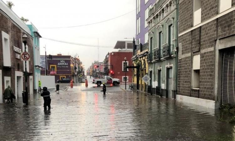 No se reportó saldo rojo pero sí varias inundaciones por la lluvia.