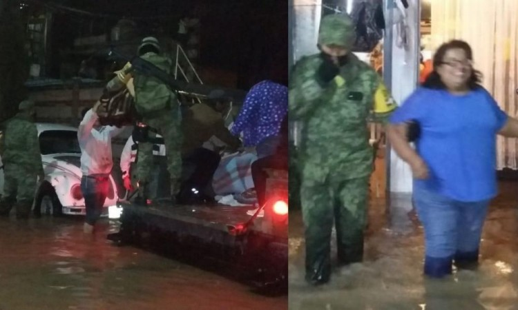 Resultan afectadas380 viviendas en Amozoc tras inundación