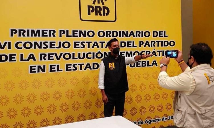 Carlos Martínez Amador toma control del PRD Puebla… otra vez