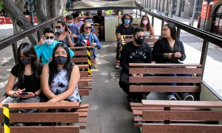 ¿Unas vacaciones? Turibuses reanudan actividades en Puebla en la Nueva Normalidad
