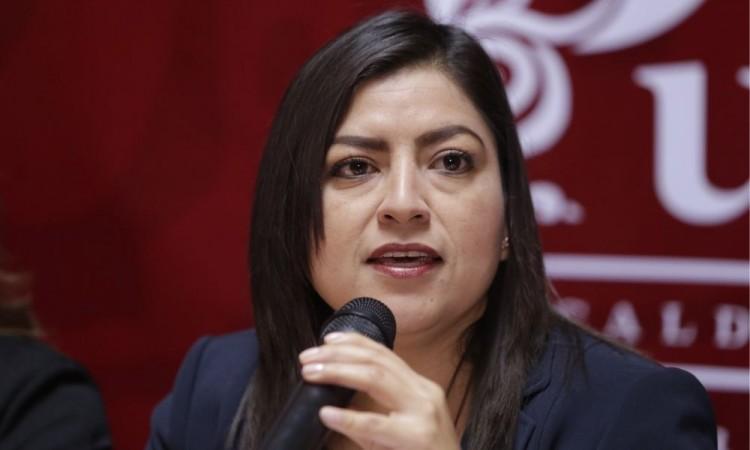 Militantes deben elegir al dirigente nacional de Morena: Claudia Rivera