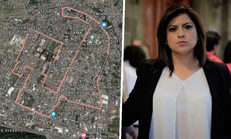 Piden a Claudia Rivera regular ejidos en la Romero Vargas