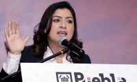 Confirma Claudia Rivera reunión con Barbosa para afinar detalles de las celebraciones del mes patrio