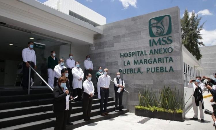 Cuenta IMSS con 534 camas en Puebla para atender Covid-19, aseguran