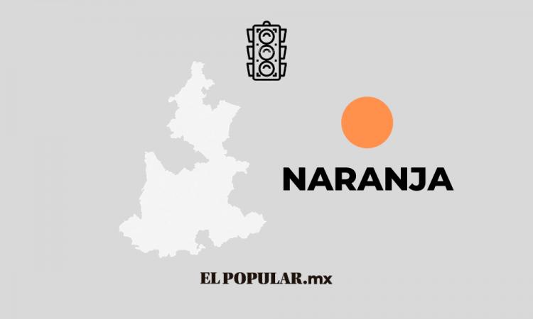 Puebla al fin pasa al Semáforo Naranja de contagios