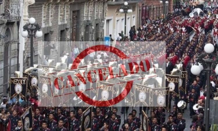 Se cancela desfile del 16 de septiembre en Puebla