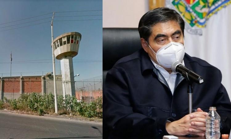 Yo no tengo un peso de la federación en ninguna obra en Puebla: Barbosa