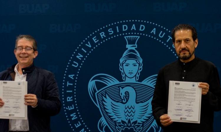 BUAP cierra contrato con SPR para promover contenidos educativos