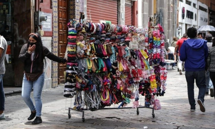 Vendedores ambulantes del Centro Histórico