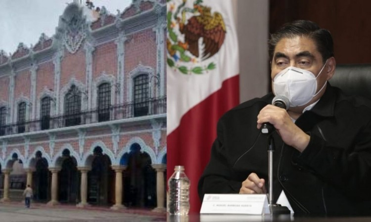 Los cuatro funcionarios detenidos en Tehuacán serán presentados ante un juez de control: Barbosa