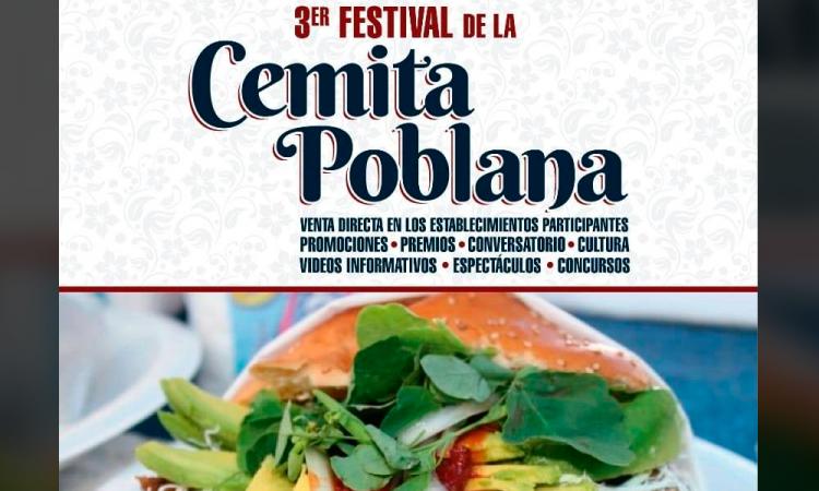 ¡Provecho! Disfruta del Tercer Festival de la Cemita Poblana durante este fin de semana