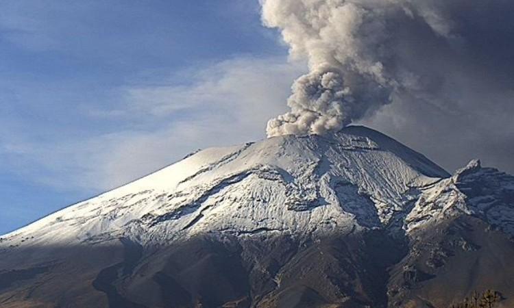 Despierta con todo el Popocatépetl