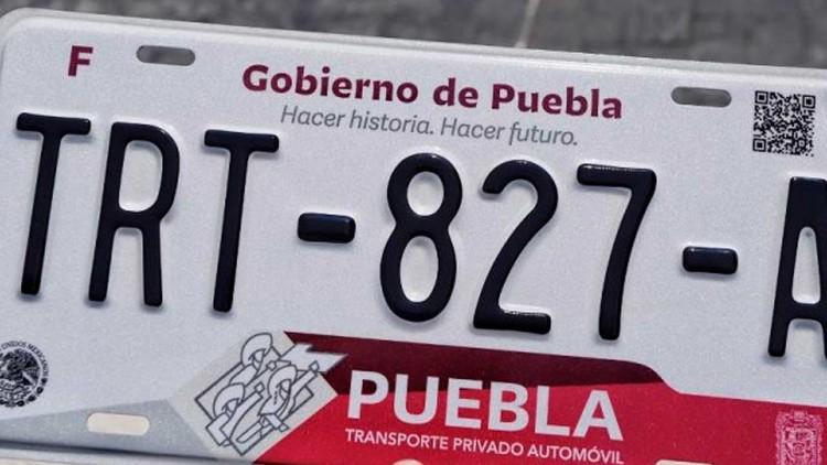 Gobierno de Puebla analiza prorrogar reemplacamiento hasta octubre