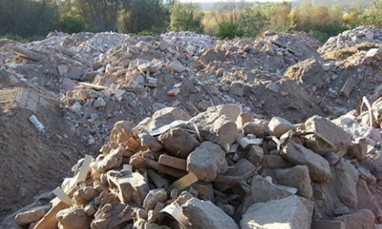 El municipio de Puebla no administra ni regula el banco de tiro para alojar materiales de construcción.