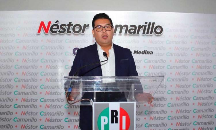 Avanza coalición PRI-PRD en Puebla, Néstor Camarillo confirma reuniones