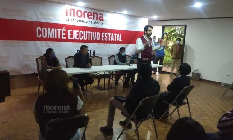 Visitó Puebla como parte de su gira de acercamiento.