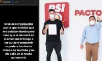 Quitan nombramiento al youtuber Simón Ahued del PSI tras críticas en redes