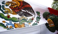 Desfile sombrío se desarrolló en Puebla