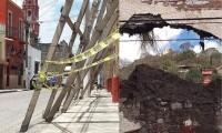 Por reconstruir, más de la mitad de monumentos tras sismo de 2017