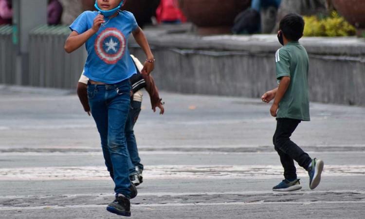 En Puebla se han contagiado 140 menores por Covid-19