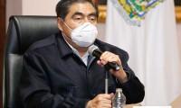 Barbosa pide a poblanos no bajar la guardia ante pandemia del Covid-19