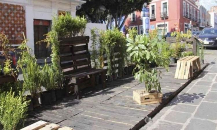 Ampliarán programa de Parklets en el centro para reactivación económica