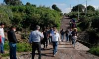 Exigen a Rivera repara el puente de Totimehuacan afectado por las lluvias
