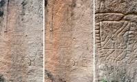 Descubren en Puebla antiguas pictografías de culturas mesoamericanas
