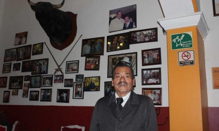"""Muere Don Onésimo Sánchez dueño del famoso restaurante """"El Burladero"""""""