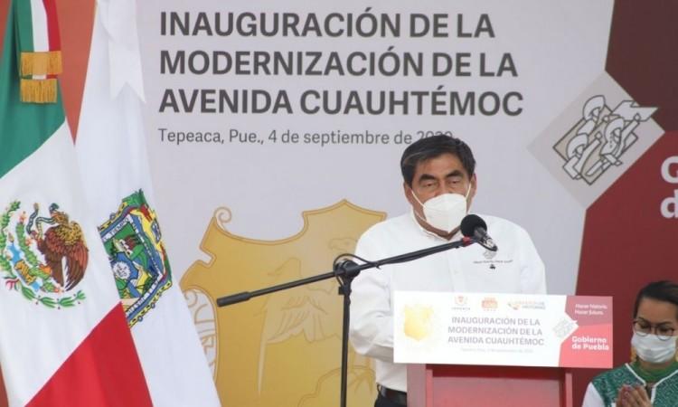 Puebla se queda en naranja, pese a semáforo amarillo de la federación: Barbosa