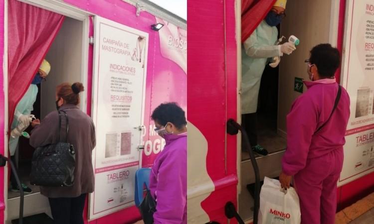 Implementa Puebla IMSS estrategia de detección oportuna de cáncer de mama a través de mastógrafos móviles