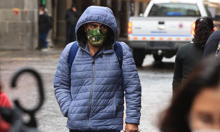 El frente frío número 5 afectará a 57 municipios de estado de Puebla.