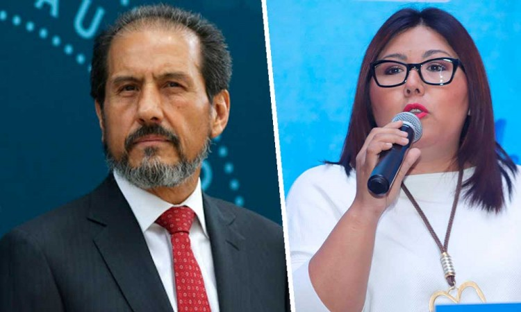 Genoveva Huerta ofrece candidatura panista a Esparza Ortiz