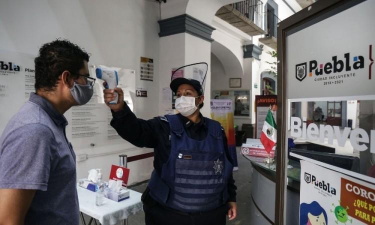 Acumula fin de semana 289 nuevos contagios de Covid-19 en Puebla