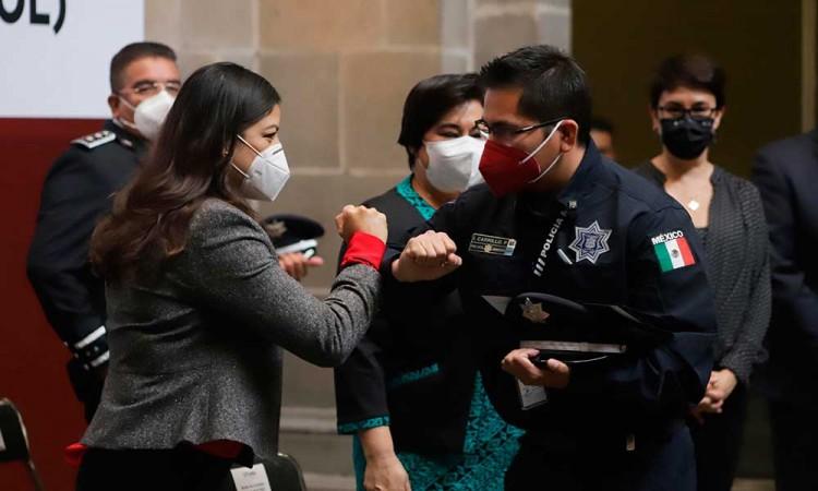 Brote de Covid-19 en la Policía de Puebla; se confirma 13 contagiados en un día