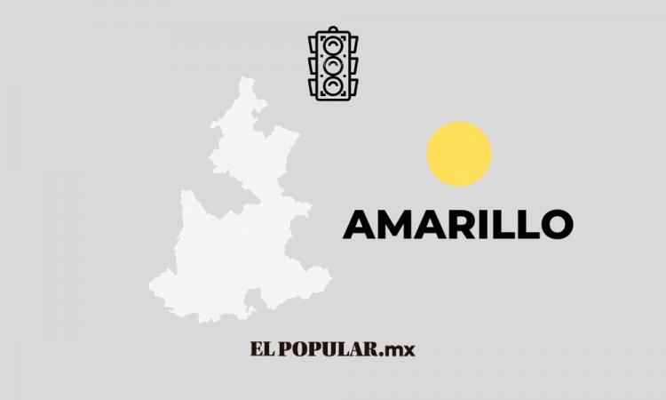 Puebla se salva de regresar al Naranja, se mantiene en Amarillo 15 días más