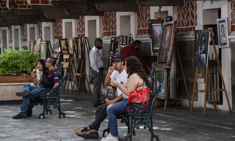Deja fin de semana 299 nuevos contagios de Covid-19 en Puebla