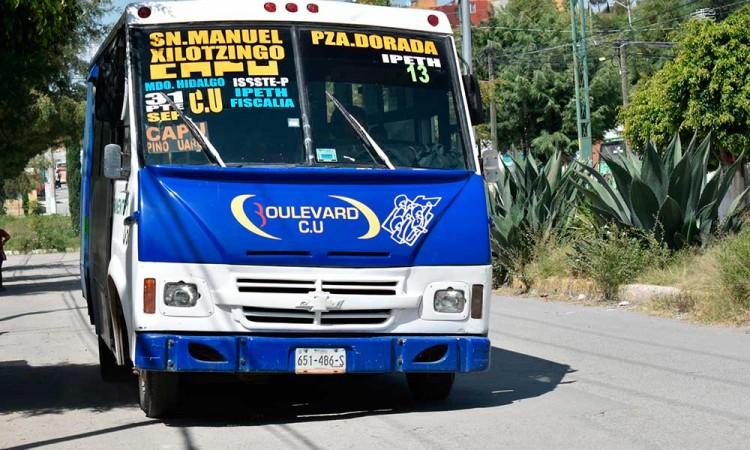 Concesionarios le echan la culpa al Covid por mínima remodelación al transporte público
