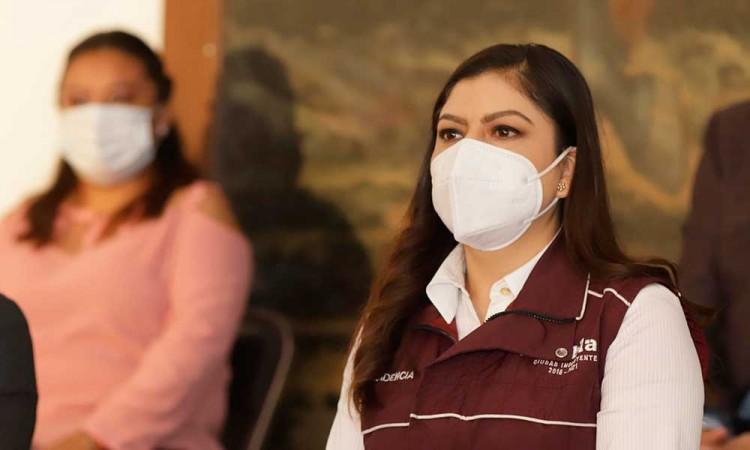 Claudia Rivera aún espera la invitación del Congreso ante presuntas irregularidades