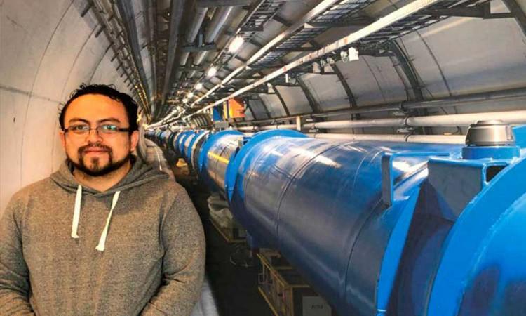 Abraham Villatoro, de la BUAP al CERN: el corazón mundial de la investigación de física de partículas
