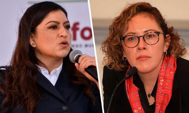 """""""No tengo temor"""": responde Claudia Rivera ante acusaciones de Beatriz Martínez"""