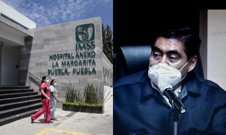 """el mandatario poblano señaló que """"eso no se puede permitir"""" y actuarán a través de la Secretaría de Salud, contra los in"""