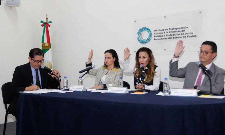 Piden parlamento abierto en la elección de integrante de Transparencia Puebla
