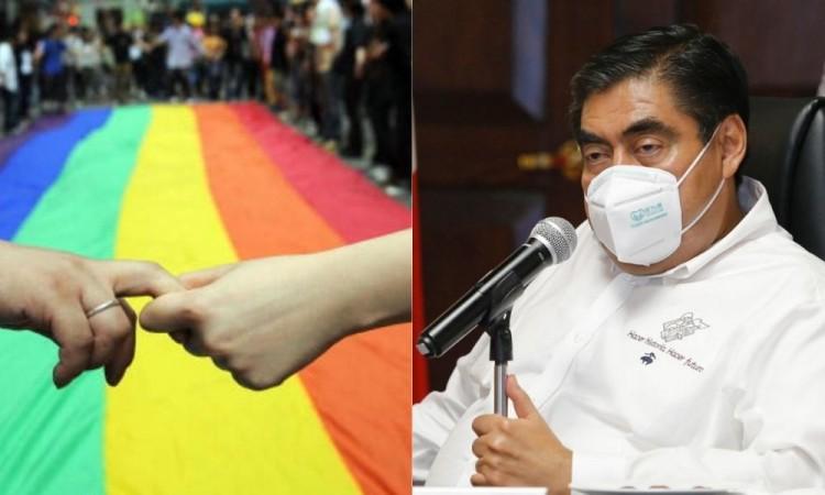 Tema sobre uniones homosexuales es complicado en Puebla, pero se resolverá, dice Barbosa