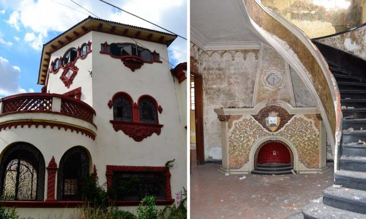 [Video] Casona abandonada de Colonia Santa María, vandalizada y usada por drogadictos