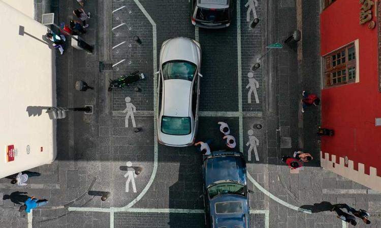 Anuncian bici estacionamientos, calles más amplias y mejoras en Los Sapos