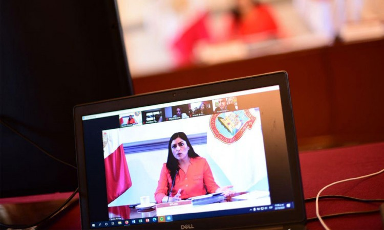 Comparte Claudia Rivera visión y estrategias de seguridad con ediles de Baja California
