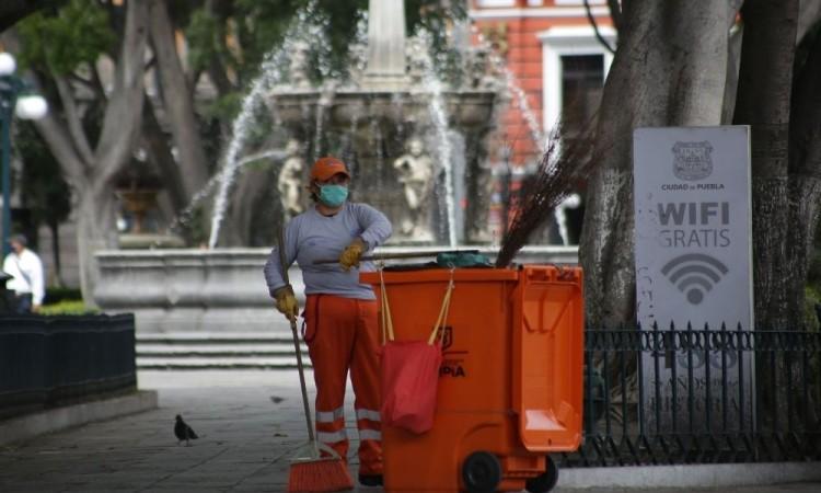 Justifica coordinador del OOSL calles sucias; es porque trabajamos al 25 por ciento: Salvador Martínez